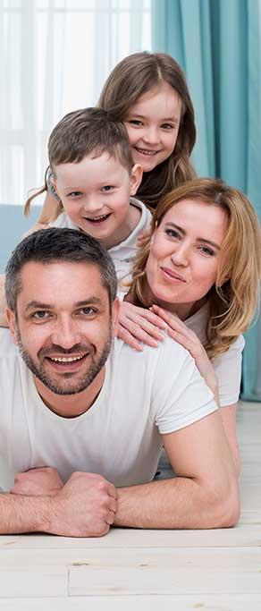 Une famille en santé grâce à la chiropratique